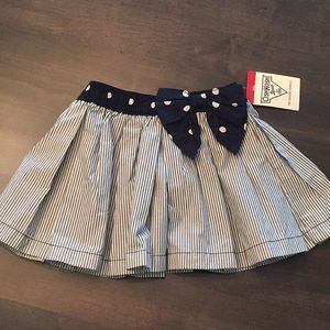 Oshkosh skirt with built in shorts, size 2T